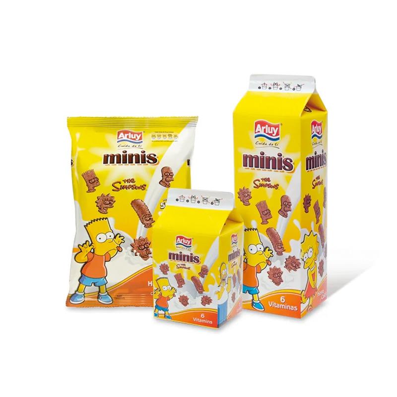 Minis Choco Simpsons Arluy